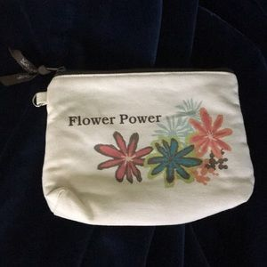 Flower Power Mini Zipper Pouch
